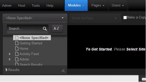 Add Existing Module
